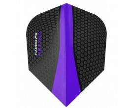 3 Flights (1 Set) Harrows Retina Purple 5503