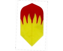 """""""Gold Flame"""" Poly Flights"""