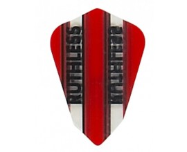 """Red"" Ruthless Darts Flight"