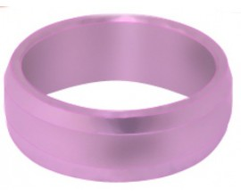 Slot Lock Flight Ring Pink