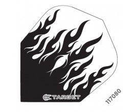 Target PRO-117080 Std Black Clear Flames