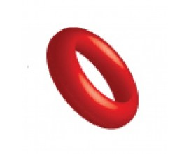 Ringos Silicone O Ring 12 pieces Red 109152