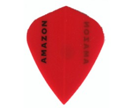 30 flights (10 sets) Ruthless Amazon KITE RED Extra Strong Flights