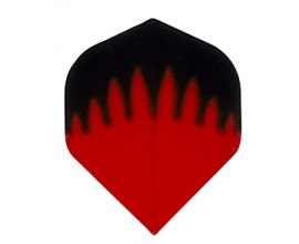 30 Flights (10sets) Poly PR557 STANDARD RED FLAME