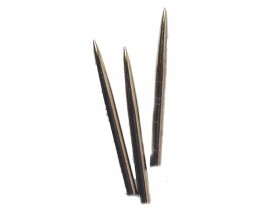 """Steel"" Dart Points Short 1.25 inch"