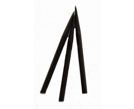 """Black"" Dart Points Long 1.5 inch"