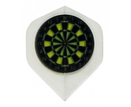 """Dart Board"" Poly Flights"