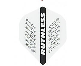 30 flights (10 sets) Ruthless 1820 Extra Strong Flights