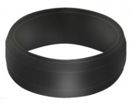 Slot Lock Flight Ring Black