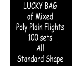 TDI Mixed Poly Plain Flights 100 sets all Standard