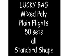 TDI Mixed Poly plain Flights 50 sets all Standard