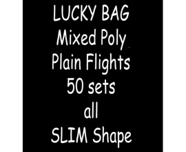 TDI Mixed Poly plain Flights 50 sets all Slim shape