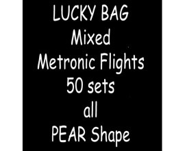 TDI Mixed Metronic Flights 50 sets all Pear shape