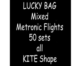 TDI Mixed Metronic Flights 50 sets all Kite shape