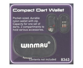 Winmau 8363 Compact Dart Wallet Contents Not Included
