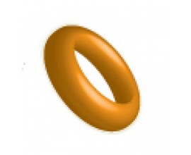 Ringos Silicone O Ring 12 pieces Orange 109155