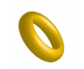 Ringos Silicone O Ring 12 pieces Yellow 109154