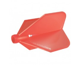 Harrows Clic flight Red FOR USE WITH CLIC STEMS ONLY