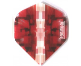 Pentathon Vizion Star Burst Red Pent-173