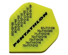 30 Flights (10 sets) Pentathlon Xtra Strong PENT-2034